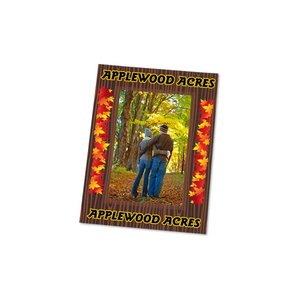 Removable Picture Frame Decal - 4 x 6 - Woodgrain Image 2 of 2
