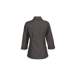 Brewar EZ-Care Checkered 3/4 Sleeve Shirt - Ladies' Image 1 of 1