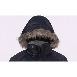 Eversum Insulated Faux Fur Trim Hooded Jacket - Men's Image 1 of 2