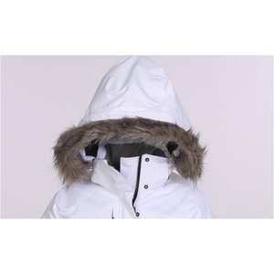 Eversum Insulated Faux Fur Trim Hooded Jacket - Ladies'
