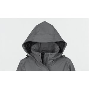 Bornite Insulated Soft Shell Hooded Jacket - Ladies' Image 2 of 2