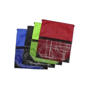 Printed Mesh Pocket Sportpack Image 2 of 2