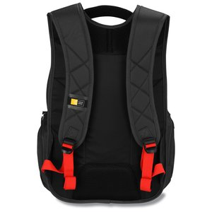 Case Logic Cross-Hatch Laptop Backpack - Emb Image 3 of 3