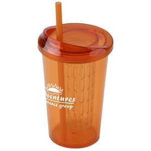Tutti Frutti Infuser Tumbler with Straw - 20 oz. - 24 hr Image 1 of 3