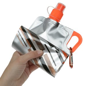 Flatout Brights Foldable Sport Bottle - 30 oz. - 24 hr Image 2 of 3