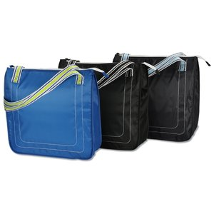 Color Band Cooler Tote Image 1 of 3