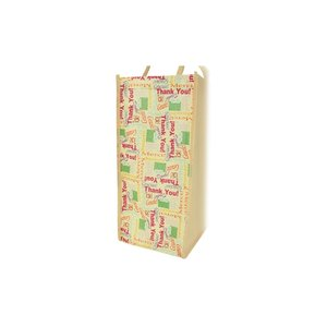 Non-woven Motif Carry All - Thank You - Closeout