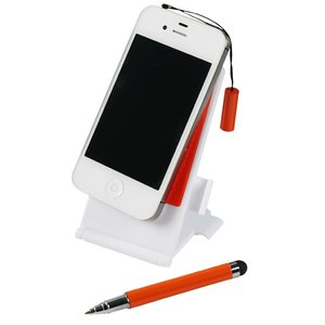 Cell Phone Stand with Stylus Pen Image 2 of 5