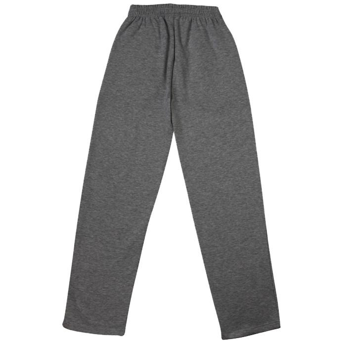 Mens open bottom sweatpants