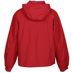 Hooded Raglan Athletic Jacket Image 1 of 1