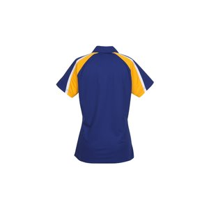 Tricolor Micropique Performance Polo - Ladies' Image 1 of 1