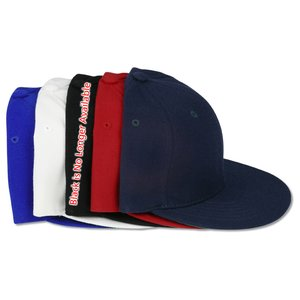 U-Curve Snap Back Flat Bill Cap Image 1 of 2