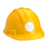 View Extra Image 1 of 1 of Hard Hat Sticker - Circle - 2-1/2 inches Dia