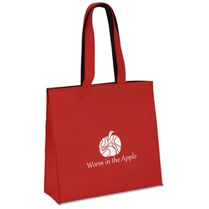Polypropylene Felt Snap Tote Image 1 of 3
