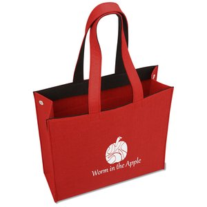 Polypropylene Felt Snap Tote Image 2 of 3
