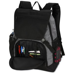 Pike Laptop Backpack - Embroidered Image 2 of 4
