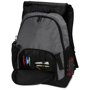 Pike Laptop Backpack - Embroidered Image 3 of 4