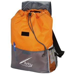 Adventure Drawstring Backpack Image 3 of 3