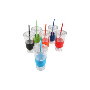 Rotation Tumbler with Straw - 20 oz. Image 2 of 2
