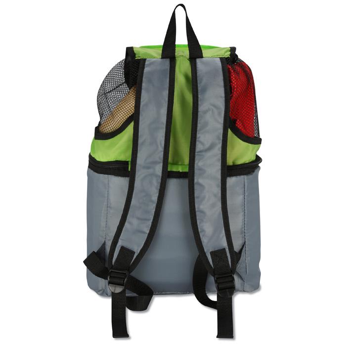 3da785a11d34 4imprint.com  All-in-One Beach Cooler Backpack 117496
