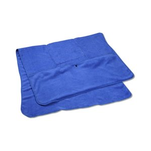 Folding Chenille Travel Blanket
