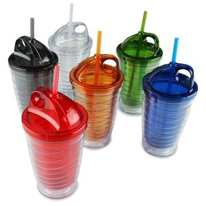 Cool Gear Wave Tumbler - 16 oz. - 24 hr Image 1 of 3