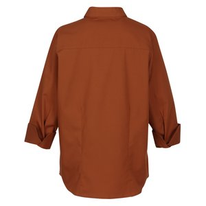 Superblend 3/4 Sleeve Poplin Shirt - Ladies' Image 1 of 1