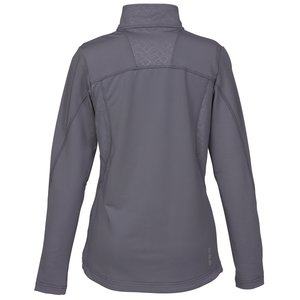 Caltech Performance 1/4 Zip Pullover - Ladies' - 24 hr Image 2 of 3