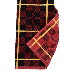 Plaid Trifold Golf Towel with Grommet - Closeout Image 1 of 1