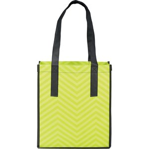 Zig Zag Shopper Tote - 24 hr Image 2 of 2