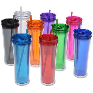 Boost Tumbler with Straw - 20 oz. Image 1 of 2