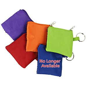Sporty Pouch with Colorful Ear Buds