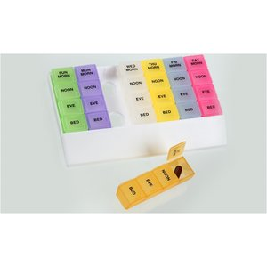 Micro Rainbow 24/7 Medicine Tray Organizer - Closeout Image 1 of 1