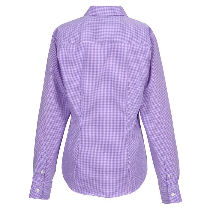e4501248e5 4imprint.com  Van Heusen Gingham Check Shirt - Ladies  117867-L