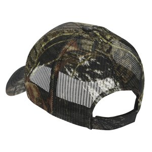 Outdoor Cap Mesh Camo Hat - Mossy Oak Break-Up Image 1 of 1