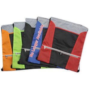 Zip N Go Drawstring Sportpack Image 2 of 2