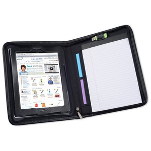 Flip Leather Portfolio for iPad Image 2 of 3