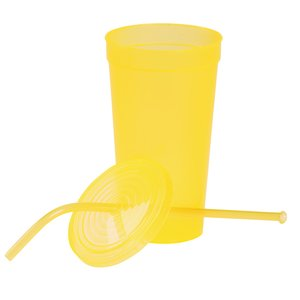 Brilliantly Bent Straw Tumbler - 22 oz. Image 1 of 2