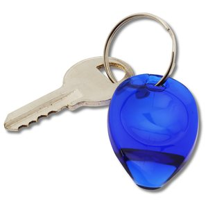 Tear Drop Lottery Scratcher Key Tag - Translucent Image 2 of 2