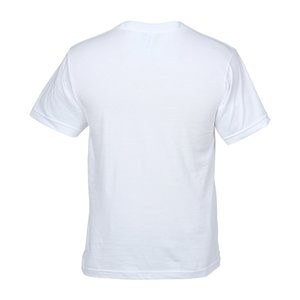 Bayside USA Made Jersey Tee - Men's - White Image 1 of 1