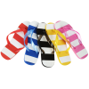 Striped Flip Flops - 24 hr Image 1 of 3