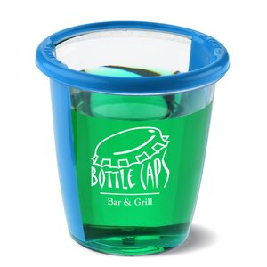Twist n' Shot Cup - 2 oz. - Translucent Image 2 of 3