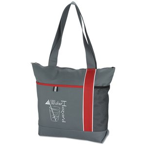 Cityscape Zippered Tote Image 3 of 3