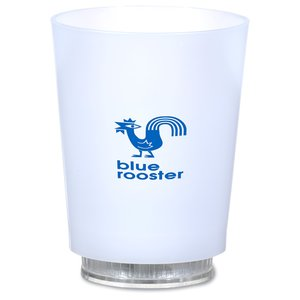 Light-Up Frosted Glass - 11 oz. Image 1 of 7