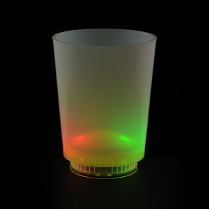 Light Up Frosted Glass - 11 oz. Image 6 of 7