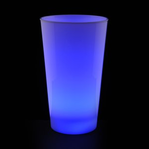 Light-Up Frosted Glass - 17 oz. Image 2 of 7