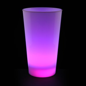 Light-Up Frosted Glass - 17 oz. Image 4 of 7
