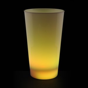 Light-Up Frosted Glass - 17 oz. Image 5 of 7