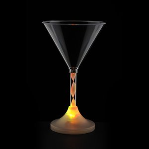 Martini Glass with Light-Up Spiral Stem - 6 oz. Image 6 of 7