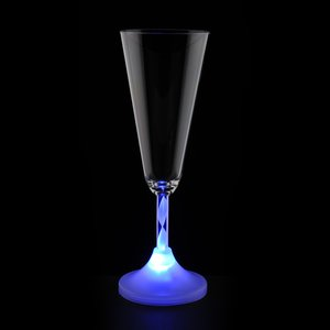 Champagne Glass with Light-Up Spiral Stem - 7 oz. Image 5 of 5